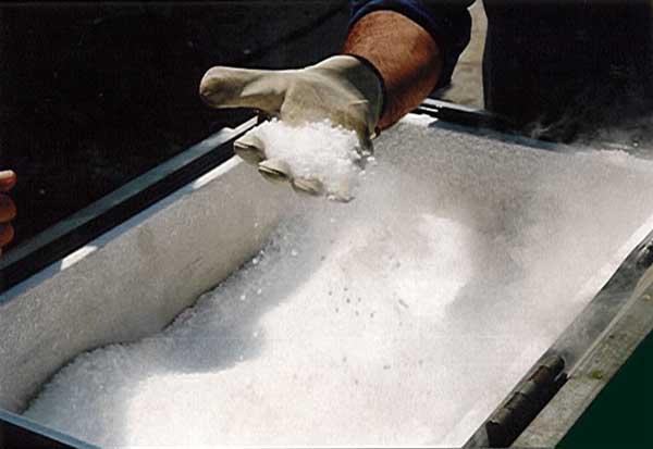 Glace carbonique micro pellet-co2