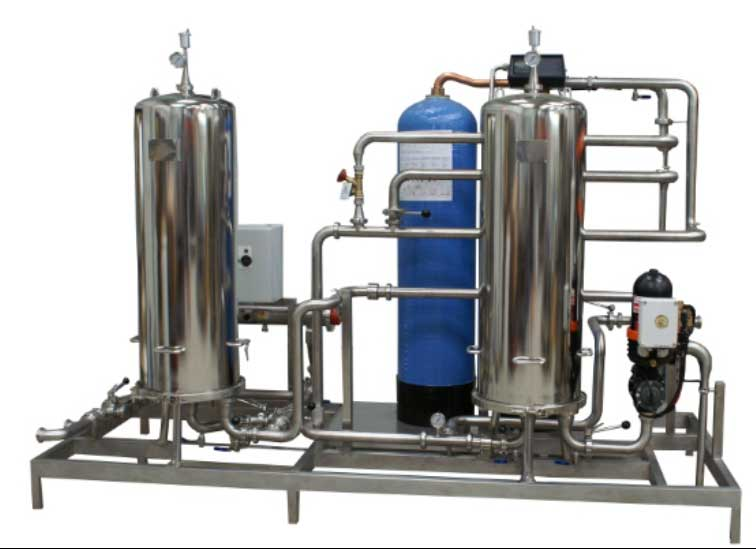 Skid de filtration eau process